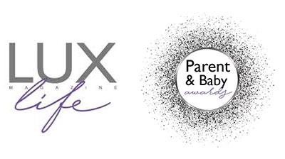 luxlife Magazine Parent & Baby Award